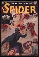 The Spider - May, 1938 Hero Pulp Magazine NR