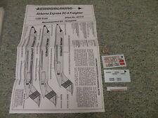 Aerocolours decals 1/200 Sheet#AC215 Airborne Express DC-9 Freighter     Box 13