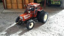 REPLICAGRI FIAT 140-90 dt DW WITH REAR DUAL WHEELS 1/32 SCALE MODEL TRACTOR