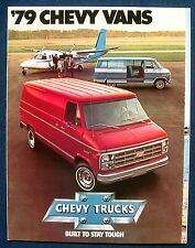 Prospekt brochure 1979 Chevrolet Chevy Vans  (USA)