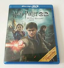 Harry Potter and the Deathly Hallows Part 2 3D (Blu-ray 2-Disc Set) PROMOTIONAL