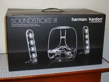 New Harman Kardon Soundsticks III 2.1 Channel Multimedia Spkr System w/Subwoofer