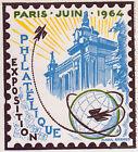 Yt1403 PHILATEC PARIS 1963 FRANCE FDC Enveloppe Lettre Premier jour