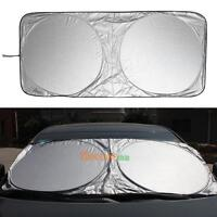 Car Front Rear Windshield  Window Foldable Sun Shade Shield Cover Visor UV Block