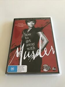How To Get Away With Murder : Season 1 DVD  4-Disc Set Region 4