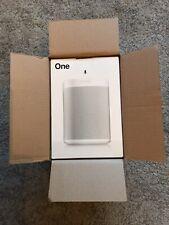More details for brand new | sonos one gen 2 white wireless speaker | alexa/google voice control