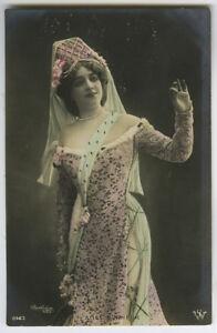 c 1910 Glamor Glamour SPANISH LATIN BEAUTY photo postcard