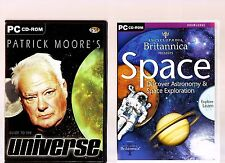 Patrick Moore'S GUIDE TO THE UNIVERSE & Enciclopedia Britannica presenta lo spazio!!!