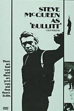 Drama - Bullitt (DVD, 1997) (Bilingual) Steve McQueen Ford Mustang Car Chase NEW