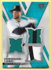 2015 Topps Triple Threads Thr3Ds #RCO Robinson Cano Triple Jersey #02/25