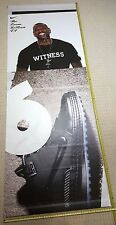 LeBRON JAMES Witness NIKE 10ft. Vinyl Rafter Banner - Los Angeles Lakers NBA