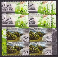 EUROPA CEPT 2016 THINK GREEN NAGORNO KARABAKH ARMENIA BLOCKS OF 4 MNH R16775