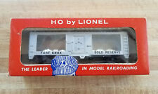 Lionel HO 0845 Fort Knox Gold Bullion Transport Car w/Corect 0845-9 Box + Insert
