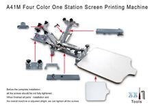 New Listingtop Grade 4color 1station Silk Screen Printing Machine T Shirt Printer Equipment
