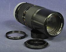 Canon FD 4,0 x 80-200 mm SSC Zoom Objektiv für A-1 T-90 F-1..... Nice Collectors