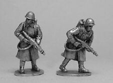 TQD Ri16 20mm Diecast WWII Russian Army Infantry with Flame Throwers-2 Figures