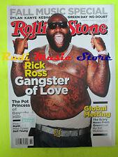 ROLLING STONE USA MAGAZINE 1164/2012 Rick Ross Dave Matthews Cat Power  No cd