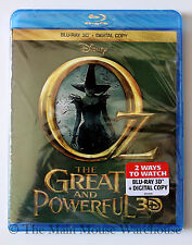 Disney Oz The Great and Powerful 3D & Digital Copy Pack English French Spanish