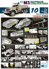 Dragon 3598 - 1/35 Idf M3 Halftrack W/20mm Hs.404 Cannon - Neu