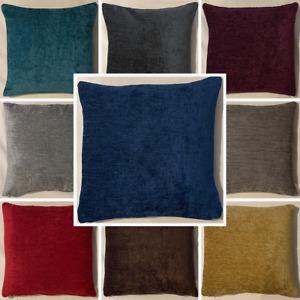 High Quality Handmade Elite Chenille Cushion Cover Home Decor Sofa Bed Zipper