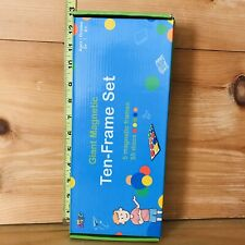 Learning Resources Giant Magnetic Ten-Frame Set Plus Set Of Used Numbers
