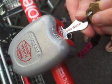 Shopping Trolley Token Keys  - Durable Metal-  3 units offer - Work In $2 Slot
