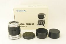 741 Voigtlander S Apo Lanthar 85mm f/3.5 for Nikon S mount **READ** BOXED
