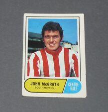 A & BC GUM CARD FOOTBALL ENGLAND 1969 JOHN McGRATH SOUTHAMPTON SAINTS