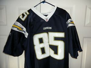 """""""NEW""""RBK On Field Antonio Gates Los Angeles Chargers NFL #85 Jersey Size 54"""