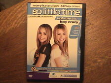 Mary-Kate Ashley Olsen - So Little Time Vol. 2: Boy Crazy (DVD, 2002)