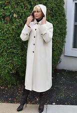 Gorgeous MARELLA Coat with HOOD Made in Italy Size 44 Italy Size 4-6 US $1230