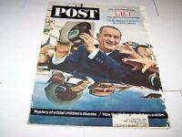 OCT 31 1964 SATURDAY EVENING POST magazine LYNDON B JOHNSON