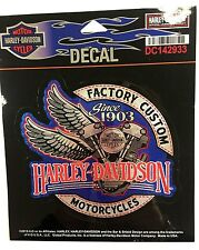 Harley-Davidson Factory Custom Decal, Blue DC142933