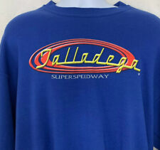 Vtg Talladega Super Speedway Mens Crewneck Sweatshirt Blue NASCAR Race Jerzees L