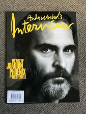 2018 Andy Warhol Interview Import Magazine Final Issue Joaquin Phoenix Ferrell