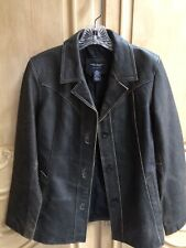 American Eagle Leather Coat Distressed Style NWOT