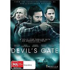 DEVIL'S GATE DVD, NEW & SEALED, 2018 RELEASE, REGION 4, FREE POST