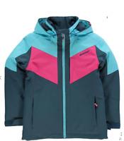 ZIENER Amila Ski Jacket Junior Girls Navy/Blue/Pink Size UK 12-13 Years *REF103