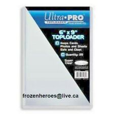 Ultra Pro 6 x 9 Top Loaders**25 Per Package**BNIP**FREE SHIPPING**DISCOUNTS**