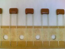 Lot of 8 Panasonic Stacked Metallized Plastic Film Capacitor 0.1uF 50V ECQ-V