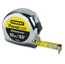 Stanley 0-33-531 PowerLock BladeArmor Pocket Tape Measure 10m/33ft (Width 25mm)