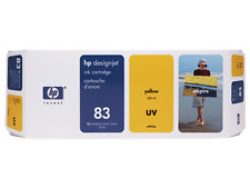 Genuine HP designjet 5500 5000 UV ink 83 YELLOW