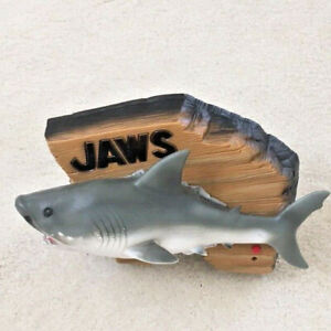 Vintage JAWS Mack the Knife Singing Shark w/Box - Has Motion Problem - GUC