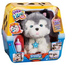 License 2 Play Little Live Pets My Dream Puppy Husky Frosty Interactive Toy