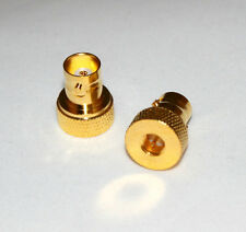 Straight Gold-plated  BNC Female to SMA Male RF Connector (US Stock; Fast ship)