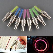 1pc Universal Colorful LED Lamp Flash Car Tyre Wheel Valve Cap Light Decoration