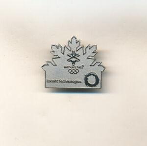 Lucent Technologies Silver Snowflake Salt Lake 2002 Olympic Sponsor Pin