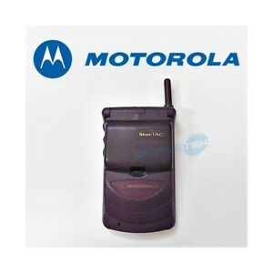 Phone Mobile Phone Motorola StarTAC 308C Gsm 900 Viola Purple Second Hand
