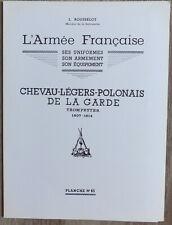 L. ROUSSELOT: Planche N° 65 - Chevau-Légers-Polonais Trompettes 1807-1814 - 1980