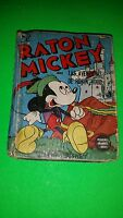 HTF MICKEY MOUSE ROBIN HOOD NON AMERICAN TITLE SPANISH BIG LITTLE BOOK